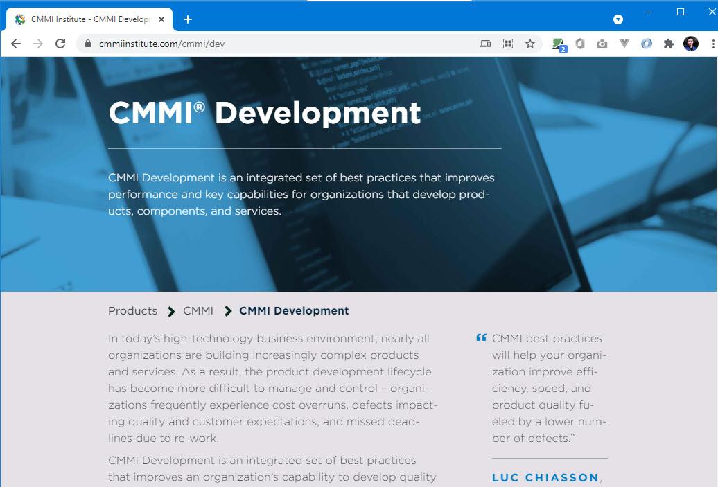 CMMI cmmiinstitute.com