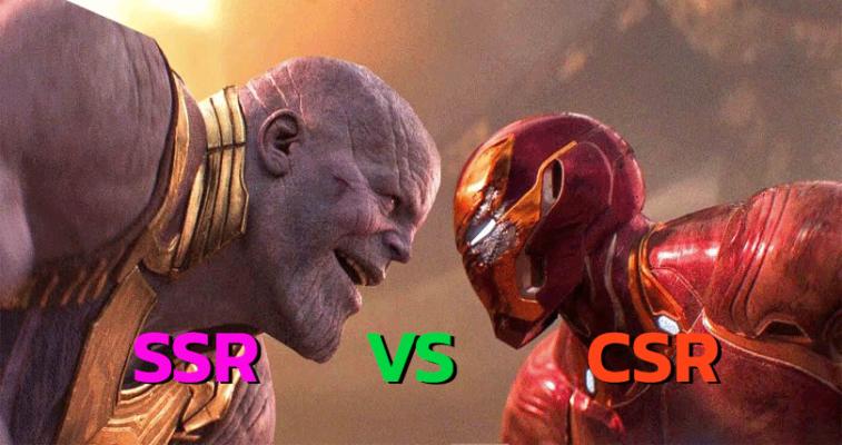 SSR-Vs-CSR
